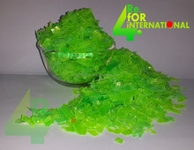 FREE SAMPLE!!! LOW PRICE Chartreuse Green /hot washed / raw material/recycled pet bottle