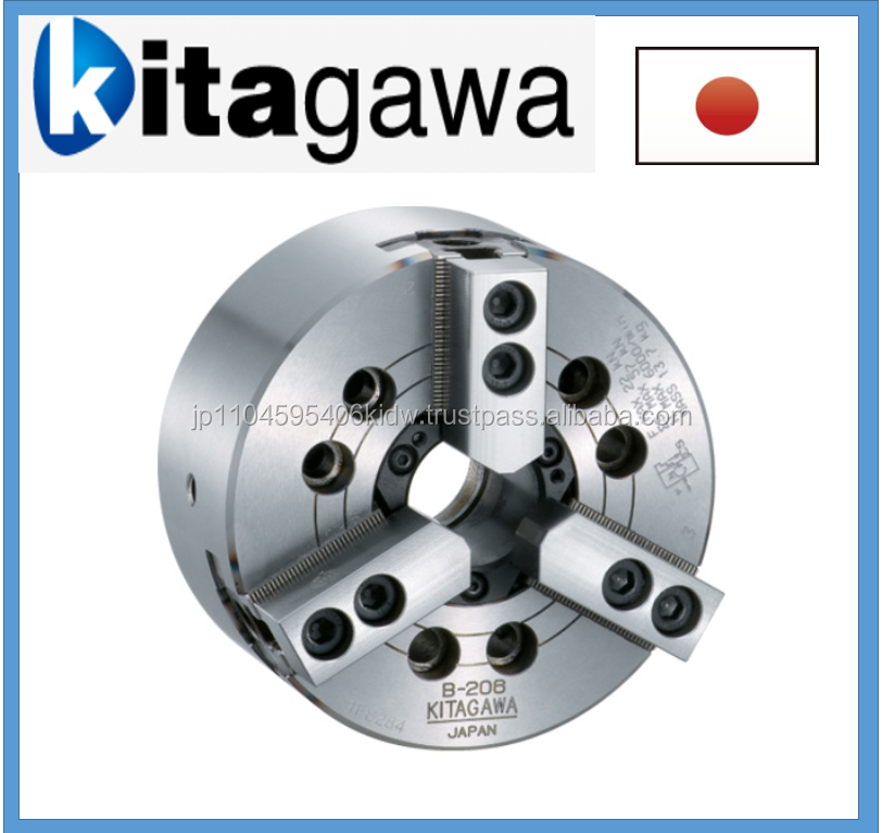 High quality milling Kitagawa chuck with excellent workability made in Japan