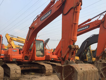 Used doosan daewoo crawler excavator 220-7/Also DH60-7, DH220LC-7, DH225LC-7, DH300LC-7 for Sale