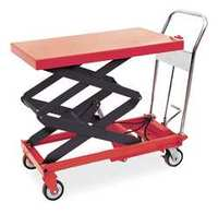 Scissor Lift Cart 800 lb. Steel Fixed