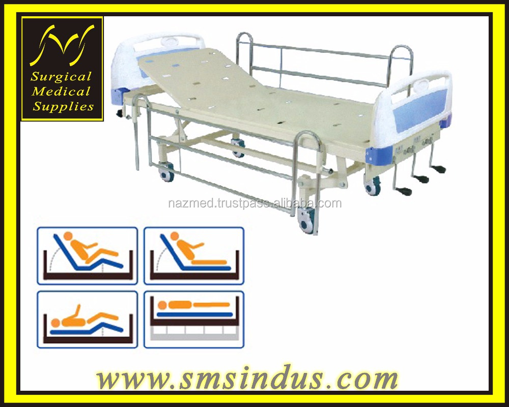 HOSPITAL HI-LO DOUBLE FOWLER BED - CRANKING
