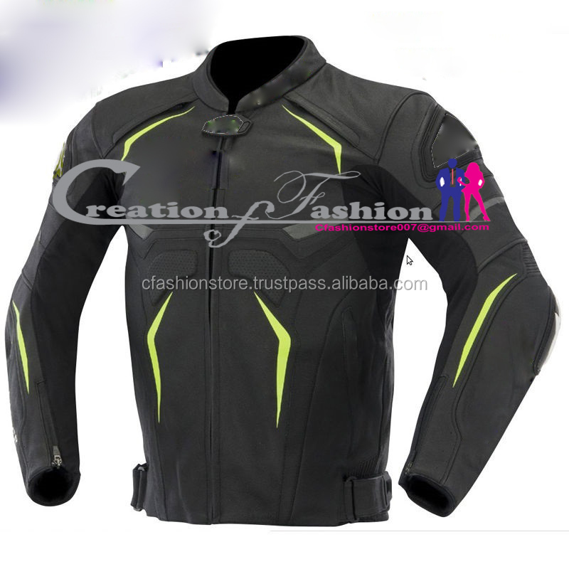 CFLMJM-1187 Hellhound leather motorbike jacket front side copy