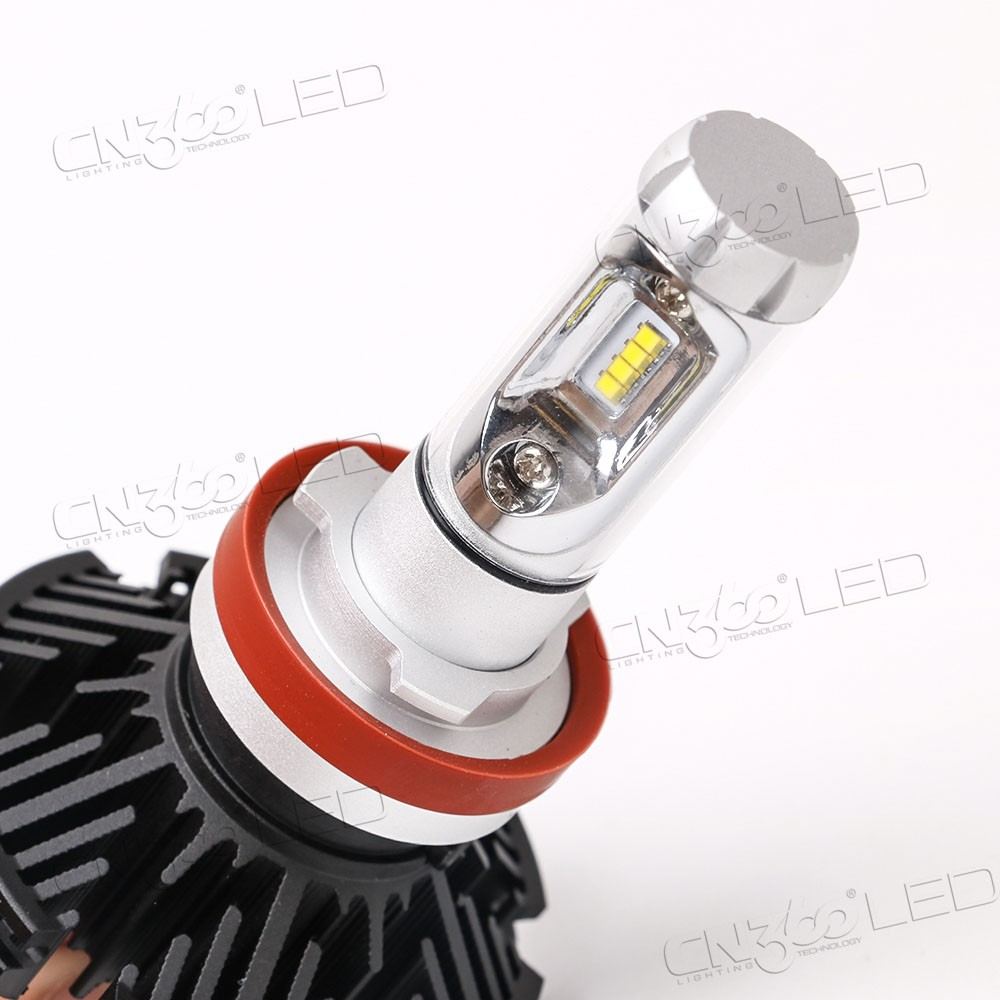 Best light beam pattern DC9V-32V 5000lm 7s h4 h7 h11 auto led headlight