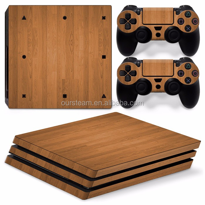 for PS4 Pro Skin Sticker for Sony PlayStation 4 Pro Console and 2 controller skins