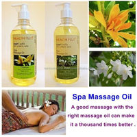 CHAMPA , MOKE FLOWER THAI SCENT Body Massage Oil Home Spa Aromatherapy 450ml