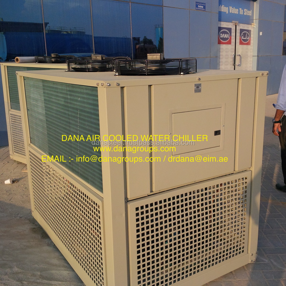 R407c gas Based Air Cooled Chilling Plant in UAE - DANA WATER CHILLER