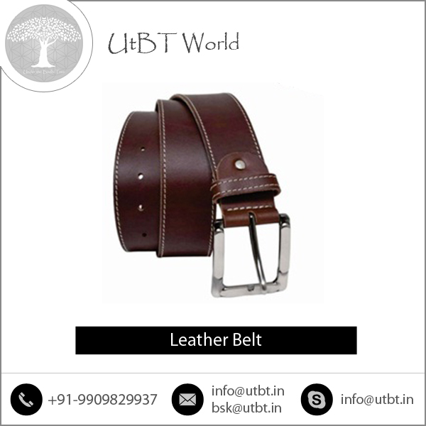 Various Types of Genuine Leather Belt from Bulk Manufacturer