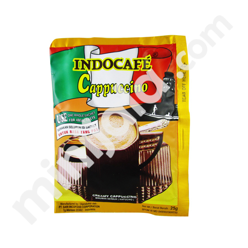 Indocafe Cappuccino with Indonesia Origin