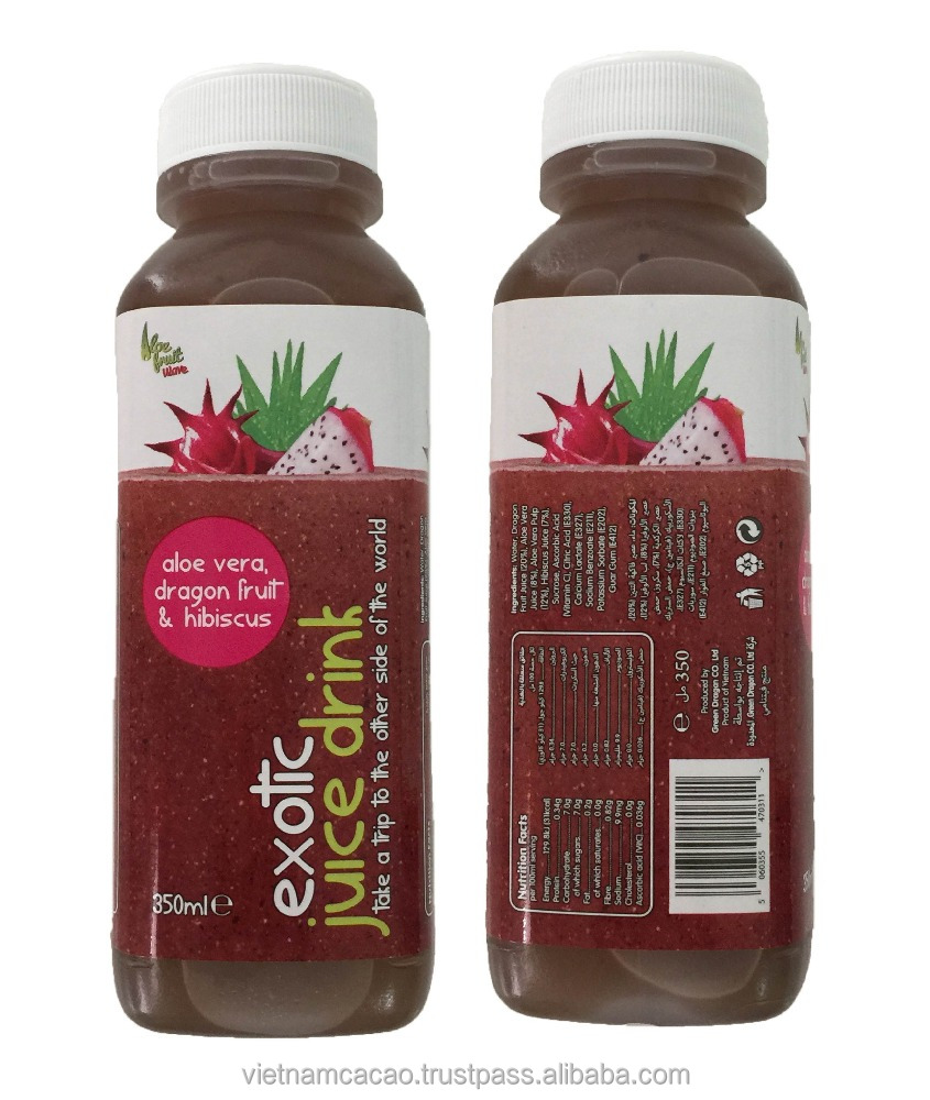 Natural flavours Fruit juice brand name VietnamCacao Dragon juice Flavours