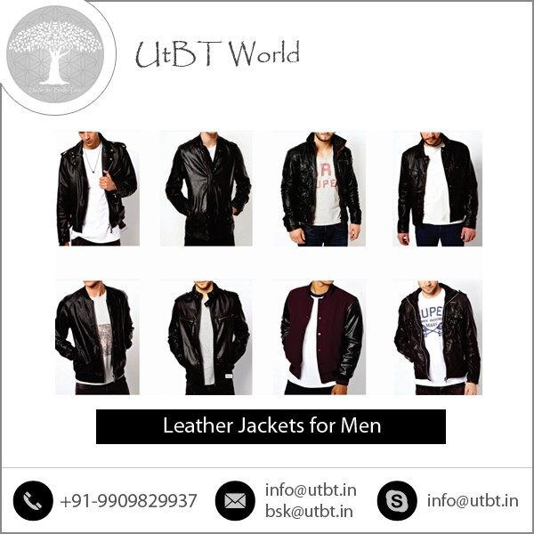 Classy Look Man Leather Jacket for Wholesale Buyer