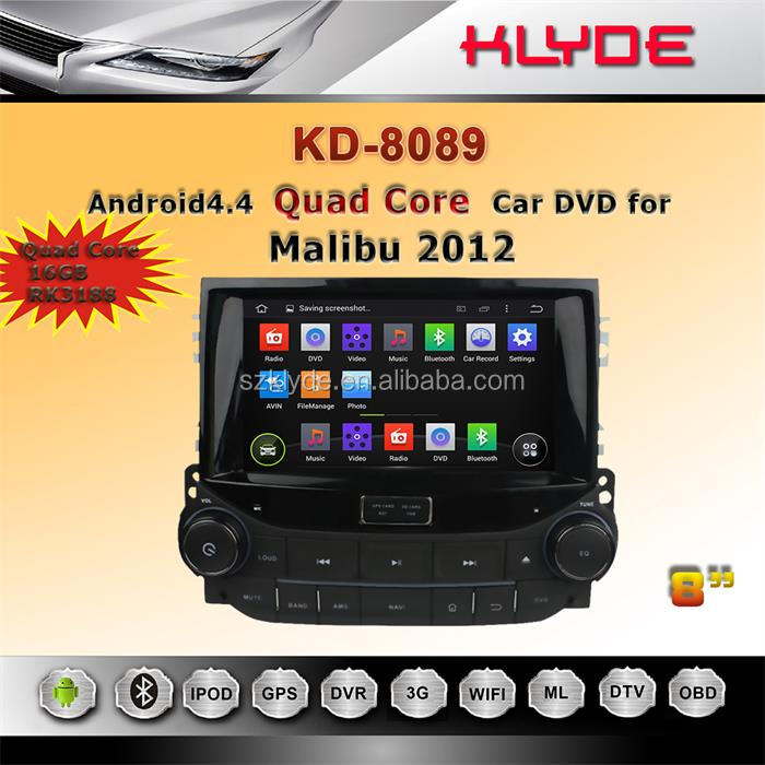 8 Inch Android 4.4.4 Touch Screen In-dash Car Dvd Player