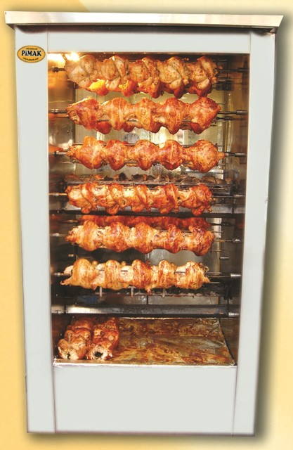 rotisserie chicken oven/gas chicken rotisserie / chicken grill