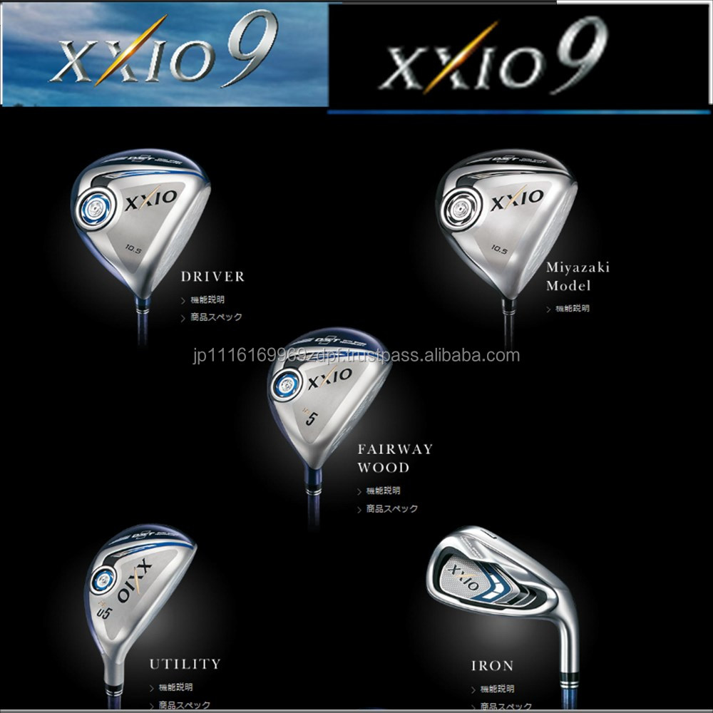 High-grade clubs xxio golf clubs irons drivers from Japanese supplier