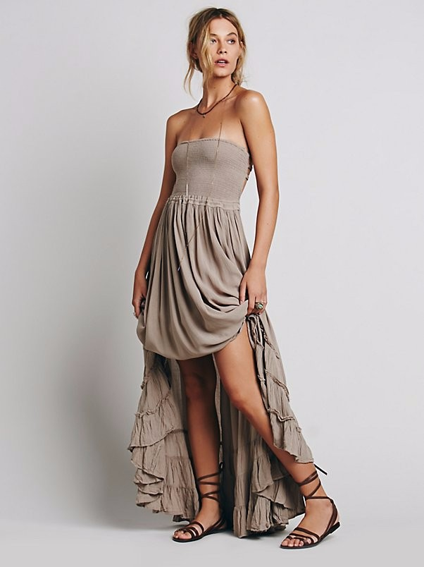 Western Design Your Own Bohemian Maxi Dress