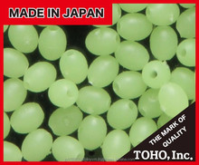 Effective ultra-bright soft plastic beads for fish manufactured by Japanese company