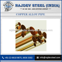 High Thermal Conductivity of Copper Alloy Pipe for Bulk Buy Available at Latest Cost