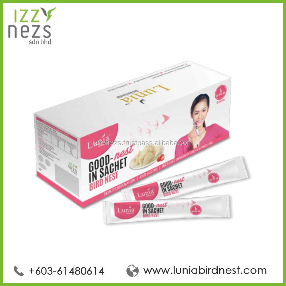 Edible Bird Nest Drink with Collagen in Sachet (15 sachet)