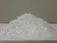 Hot washed 100% clear PET bottle scrap / PET flakes /recycled PET Resin Factory price