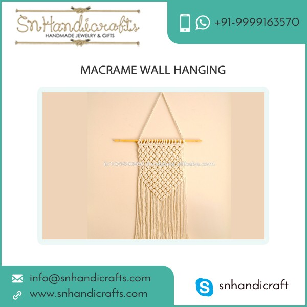 Attractive Looking Macrame Wall Hanging from Reputed Company