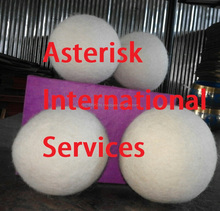 xl large 100% new zealand wool dryer balls