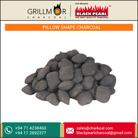 Pillow Shape Smokeless Coal Briquettes for Barbecue Wholesale Supplier from Sri Lanka