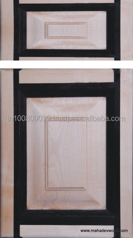 At Economical Price Modular Kitchen Doors In Solid Wood