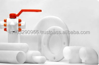 PVDF Pipes, highly pure, good resistance to heat and chemicals, used in pharmaceutical applications