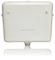 Premium Low Level Toilet Cistern Dual Push Button