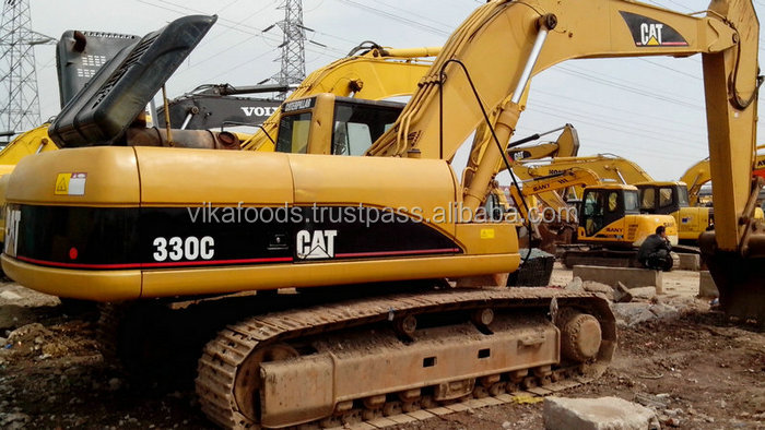 used caterpillar 330c excavator ,Japan origin, second hand CAT 330c excavator