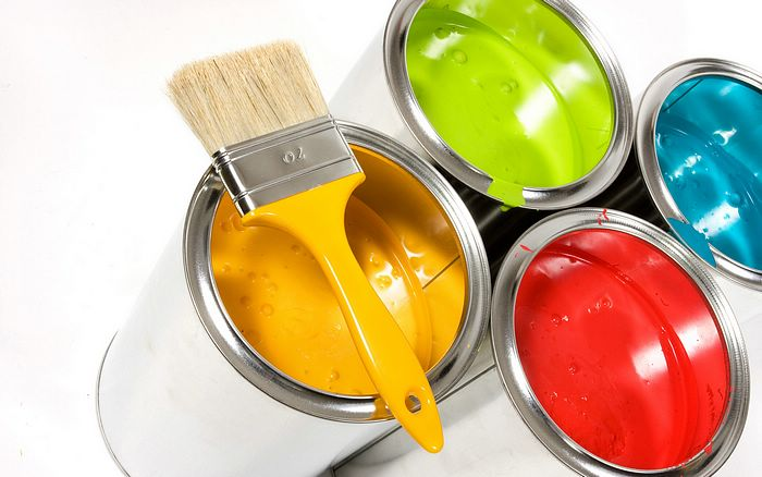 Paint Acrylic water matt emulsion plastic for interior exterior wall wood & metal base coat surface preparation putty sealer