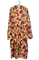 Print Cotton Bathrobe