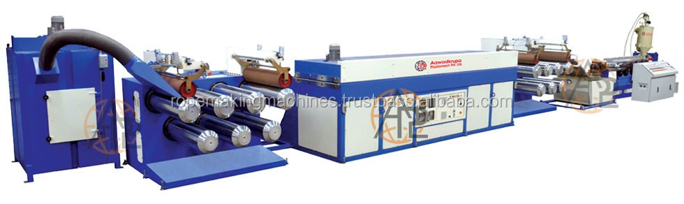PP/HDPE Flat Yarn Making Machines for Woven/Cement Bag/Container Bag Plants