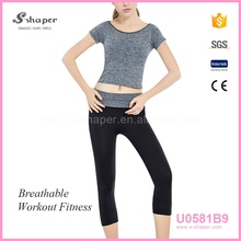 S - SHAPER Lady Sports Wear Yoga Pants Set U0581B9