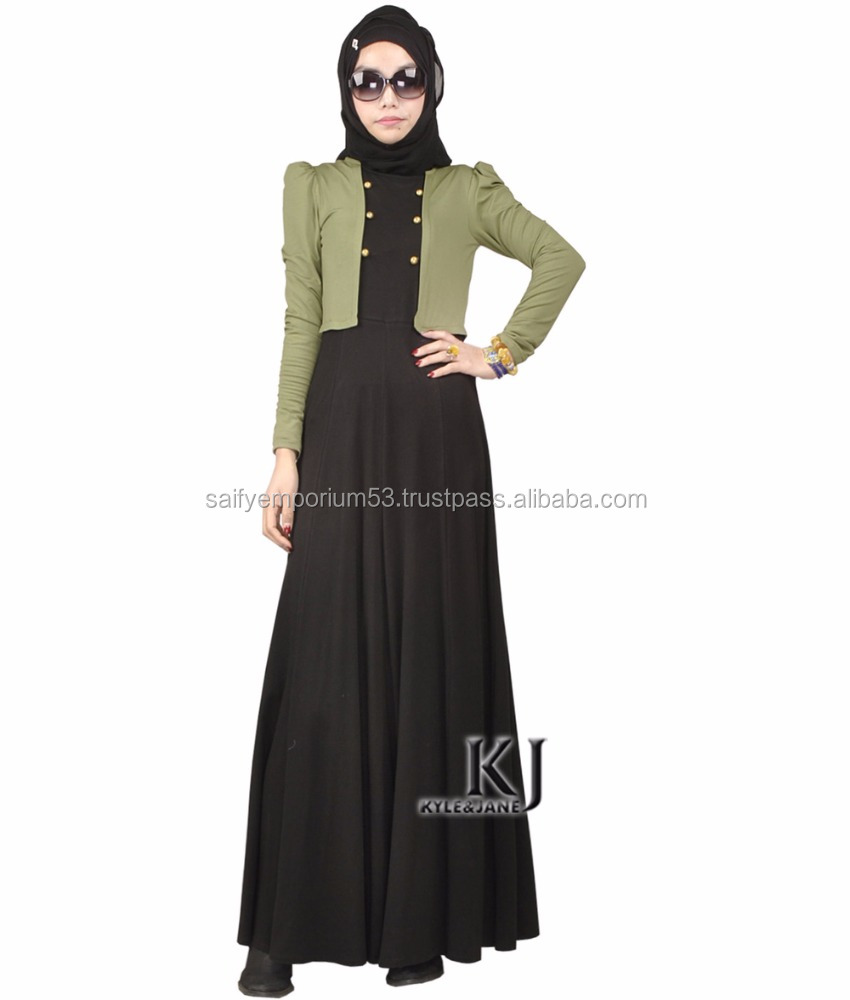 Muslim Dress Abaya in Dubai Islamic Clothing For Women Jilbab Djellaba Robe Musulmane Turkish Women Clothing Wear to Work