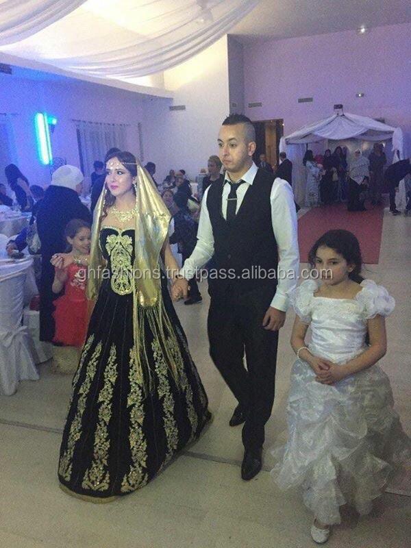 Designer Stone Work Velvet Wedding Gown 2016 - Buy Designer Stone ...