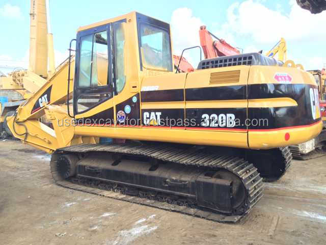 CAT 320B good engine and high qulity used excavator, also 330B, 330BL, 325C, 330C for sale
