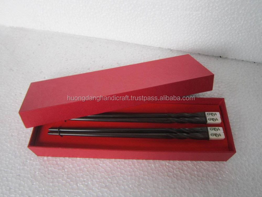 Item for Souvenir!!! High quality wooden chopstick with elegant gift box