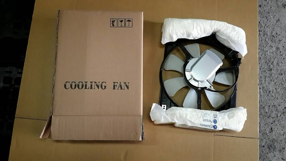 Aftermarket car parts Radiator fan For MAZDA5 w/o FCM 05'~10' OEM:LFB7-15-025B