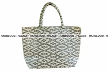 Ladies Canvas Hand Bag Stripe Beach Tote Bag High quality Canvas lady hand bag,designer handbag,fashion handbag