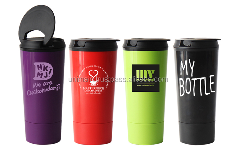 Logo Print Friendly BPA Free Tumbler 400ml Not Collapsing Keep Standing ABS Silicon Tumbler My Bottle