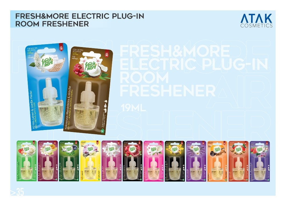 Fresh & More Electric Plug-In Room Freshener