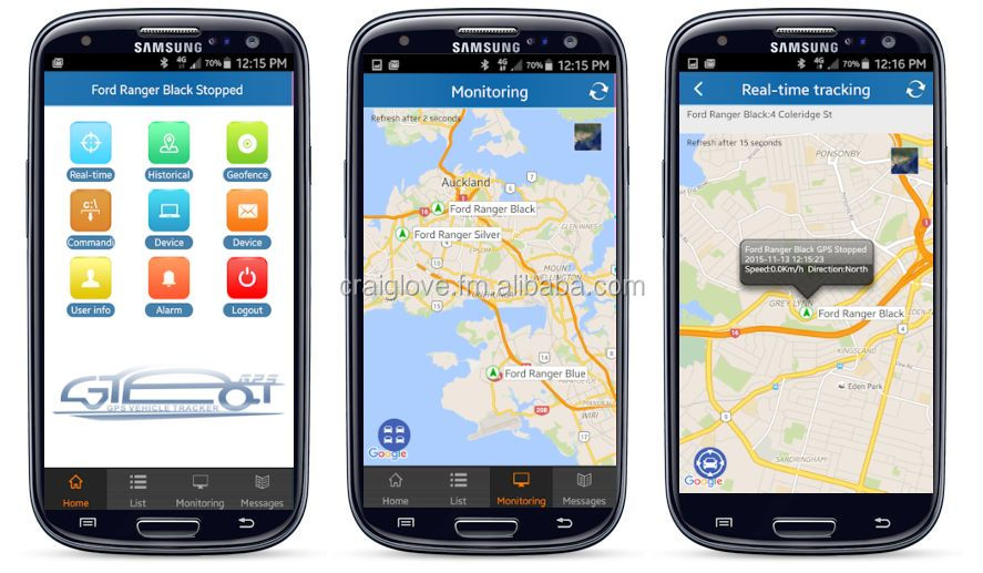 GPS Tracking and Fleet management Software
