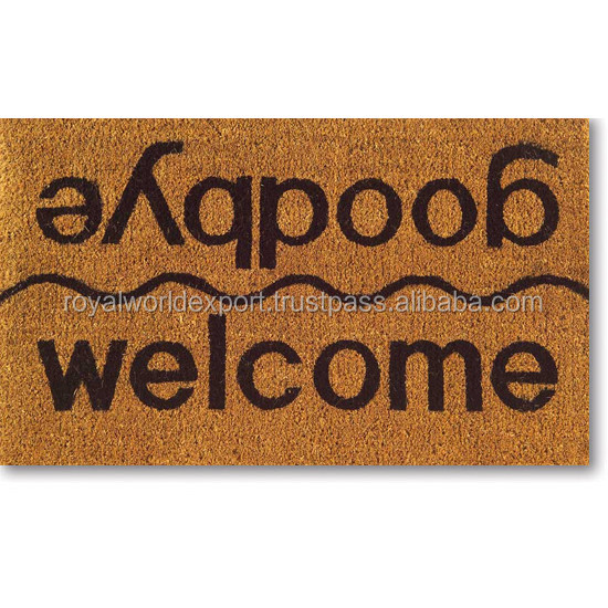 printed Coco Coir Door Mats home and shop and store room use