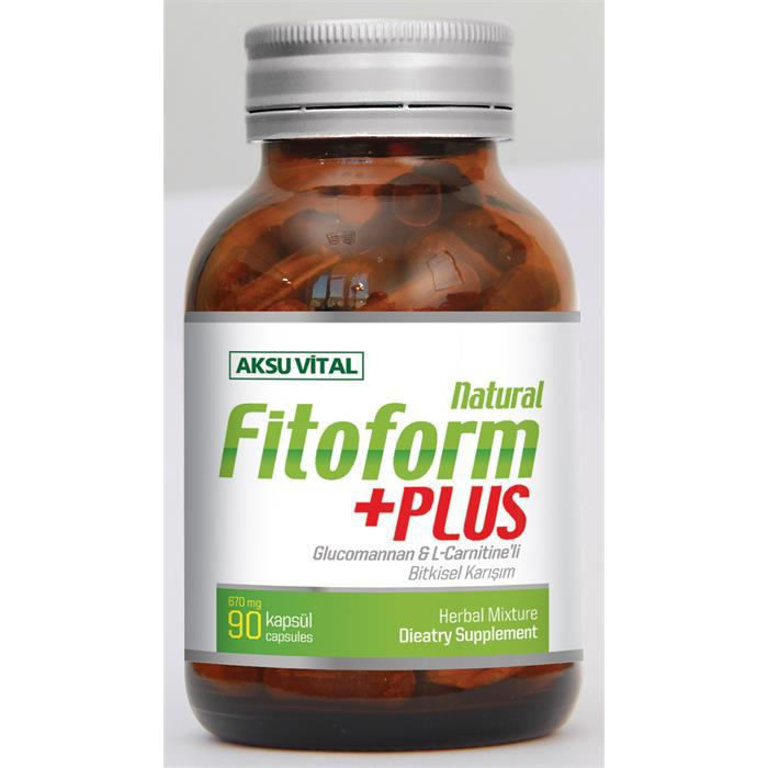 Weight Loss Pills Fito Form with L Carnitine Softgel Vegetable Capsule Dietary Supplement