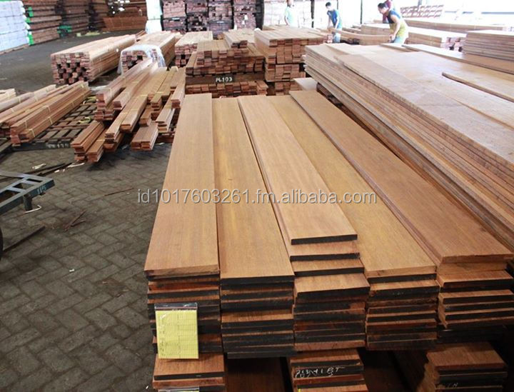 Merbau Wood Decking Reeded Anti-Slip