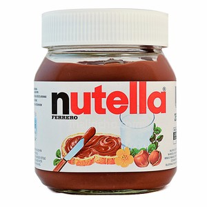 Ferrero Nutella 350g with English / Arabic