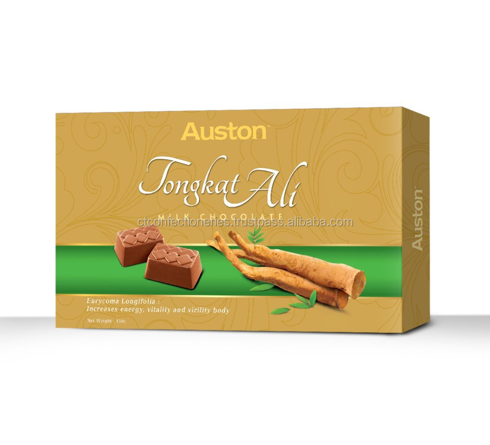 Auston Tongkat Ali Milk Chocolate 150g / Confectionery / Halal Product