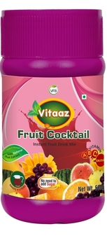 Fruit Cocktail Instant Drink Powder Packed 500g HDPE Jar