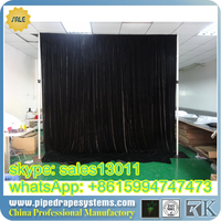 RK factory direct Pipe and drape system/pipe and drape stand/pipe and drape curtains