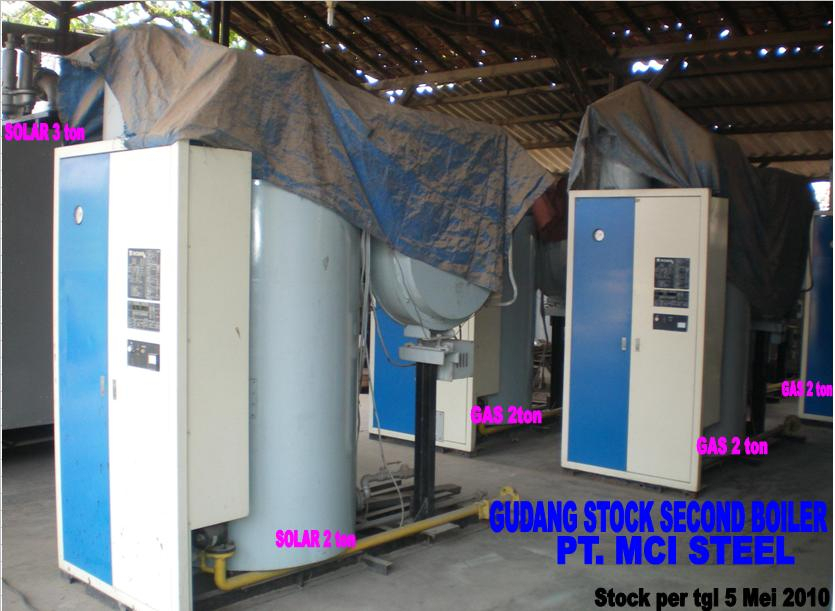 USED EX INDUSTRIES MACHINES FROM INDONESIA